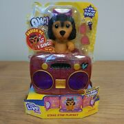 Little Live Omg Pets Have Talent, Puppy Dog With Transforming Stage And Bag, New