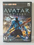James Cameron's Avatar The Game Pc Dvd-rom Ubisoft 2009 English And French 🔥🔥