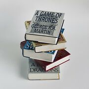 A Game Of Thrones Andbull First Edition 1st Printing Books 1-5 Andbull George R.r. Martin
