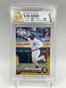 Akil Baddoo 1/1 Rc Hga 9 Gold Parallel Sp ☆ 1st Hr 2021 Mlb Topps Now Card 25