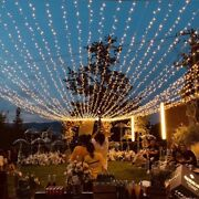 Christmas Lights Waterfall Outdoor Eaves Decoration Led Light 6m/10m/20m/30m Led