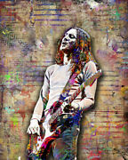 John Frusciante Of Red Hot Chili Peppers 16x20in Poster, Rhcp Free Shipping Us