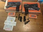 Lionel Trains O-22 Rh And Lh O Gauge 022 Remote Control Switches