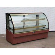 Leader Mcb77sc Refrigerated Bakery Display Case Used Great Condition