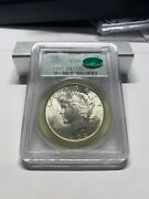 1922 Pcgs Ms64 Cac Ogh Peace Silver Dollar