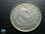 1858 P Seated Liberty Half Dime -- Make Us An Offer K2633