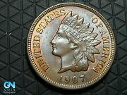1907 Indian Head Cent Penny -- Make Us An Offer K6290