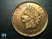 1907 Indian Head Cent Penny -- Make Us An Offer K3925