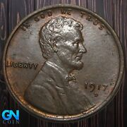 1917 D Lincoln Cent Wheat Penny -- Make Us An Offer K5888