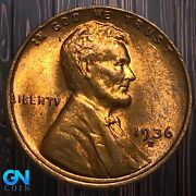 1936 D Lincoln Cent Wheat Penny -- Make Us An Offer K6131