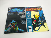 Batman A Death In The Family And A Lonely Place Of Dying Paperback Softcover Lot 2
