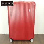 Rimowa 875.77 Salsa 4-wheel Multi-wheel 104l Suitcase Carry Case Carry Bag Red