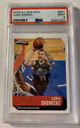 Luka Doncic 🔥low Pop 4 None Higher🔥 2019 Si For Kids Rookie 186 Psa 9 Rare
