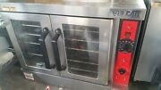 Vulcan Vc4gd-1 1d150k Natural Gas Single Deck Full Size Gas Convection Oven