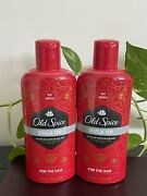 2x Old Spice Bulk Up Men's 2 In 1 Full Body Shampoo And Conditioner 12 Oz Each
