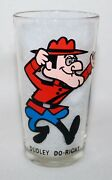 Dudley Do-right Pepsi Collector Series P. A. T. Ward 1970's 10 Oz Glass