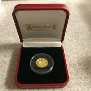 Harry Potter And The Secret Room 1/10 Ounce Gold Coin