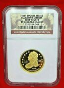 2008-w Proof Jacksonand039s Liberty First Spouse Series Gold 10 Ngc Pf70 Ultra Cameo