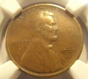 1909 S Vdb Lincoln Cent, Semi Key Date Coin 09sv006