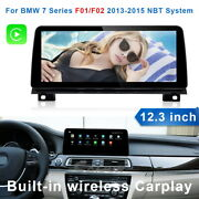 For Bmw 7 Series F01 F02 2013+ Nbt Android Car Radio 12.3 Gps Navigation Wifi