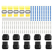 5 Sets 10 Pins Way Car Waterproof Automotive Electrical Connector 1.8mm Series
