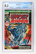 Ghost Rider 1 - Marvel 1973 Cgc 8.5 1st Appearance Of The Son Of Satan