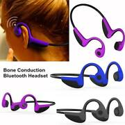 Bone Conduction Bluetooth Headset Wireless Sport Stereo Headphone For Cell Phone