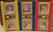 Fetco Photo Frame Baby Screen 6 Openings New From 1995 Discontinued Item