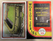 Babe Ruth 1932 World Series Program -famous Andldquobabe Ruth Called Shotandrdquo In Chicago🔥