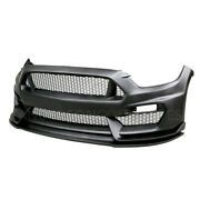 Anderson Composites 15-16 Ford Mustang Gt350 Style Fiberglass Front Bumper W/