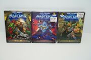 He-man And The Masters Of The Universe Volumes 1-3 Dvd 2007 Best Buy Exclusive