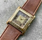 1939 Rolex Tank Gold Filled Manual Wind 912 G - Dating To First Year Of Ww2