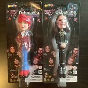 The Osbourne Family Bobble Head Pens Ozzy And Kelly New In Package