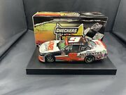 2020 Noah Gragson 9 Lionel Racing Dual Autographed Checkers Or Wreckers 1/24