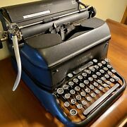 Antique Lc Smith And Corona Super Speed Typewriter | Working Antique