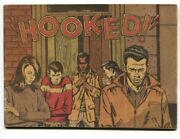Hooked Nn 1969-anti Heroin Comic Book-needles, Prostitution, Weed