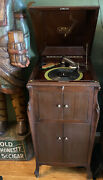 1922 Victrola Vv-100 Record Player In Excellent Working Condition