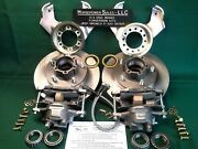 Jeep Drum-to-disc Brake Conversion Kit W/big Rotors + Calipers, Plus No Grinding