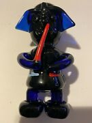 Collectible Specialty Hand Tobacco Smoking Pipe Bowl Glass Pipes - Darth Vader