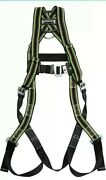 Miller Full Body Construction Safety Harness 400lb Cap Size Universal E650qc/ugn