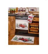 Red Truck Design Vintage Holiday Country Kitchen Collection Buy One Pc Or All