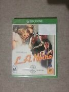 L.a. Noire - Xbox One, Brand New Sealed. Free Usa Shipping