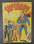 Superboy 1 March-april 1949 Dc - First Issue Golden Age Dc Comics