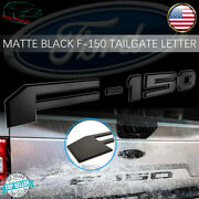 For Ford F150 Tailgate Inserts Emblem Letters Black Rear Truck Logo 2018-2020