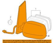 Toyota Oem 06-09 Prius Door Side Rear View Mirror-cover Right 8791568010g3