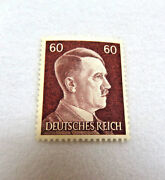 Military World War Two Adolph Hitler Germany Postage Stamp Mint Never Hinged