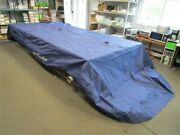Party Barge 250 Regency Double Canopy Cover 33824-07 Blue Marine Boat