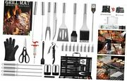 Grill Set Bbq Tools Grilling Tools Set Gifts For Men 34pcs Stainless Steel