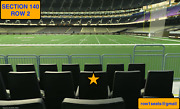 1 Dallas Cowboys At New Orleans Saints Tickets Section140 Row 2