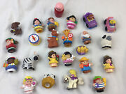 Fisher-price Little People Lot 23 Cars Animals Snow White Princess